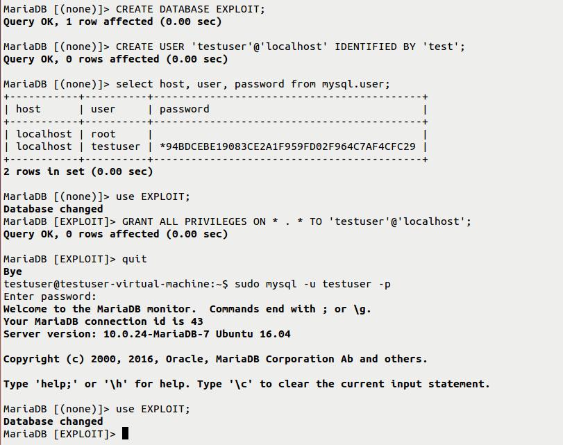 Privilege Escalation Vulnerability in MySQL / MariaDB / PerconaDB