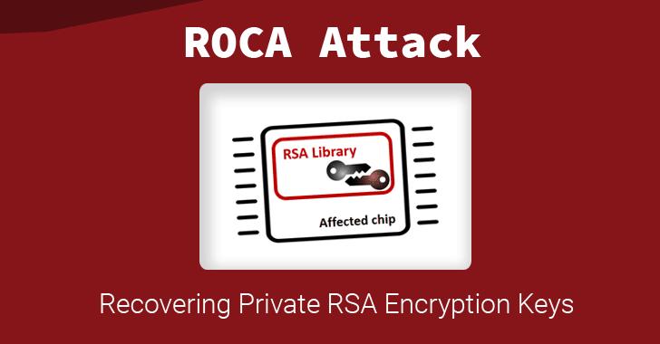 ROCA: RSA encryption key flaw