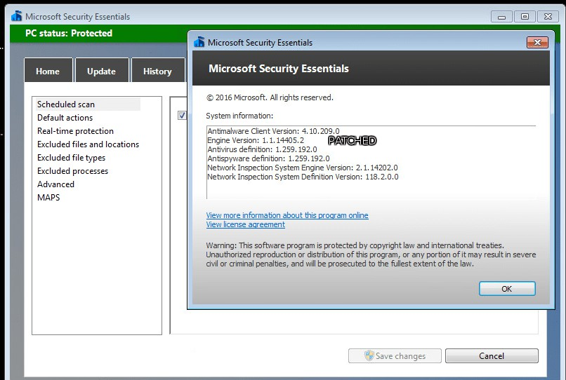 Microsoft security essentials manuell deinstallieren