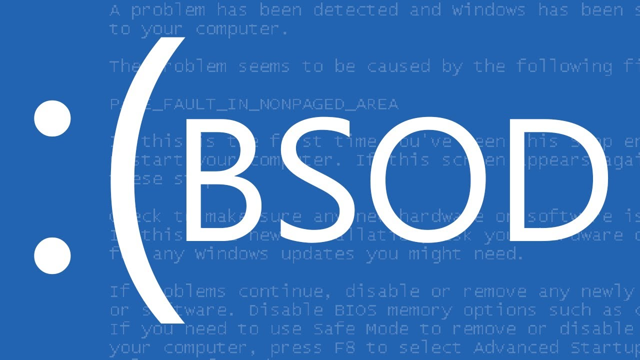 Windows SMB Blue Screen Of Death (BSOD)