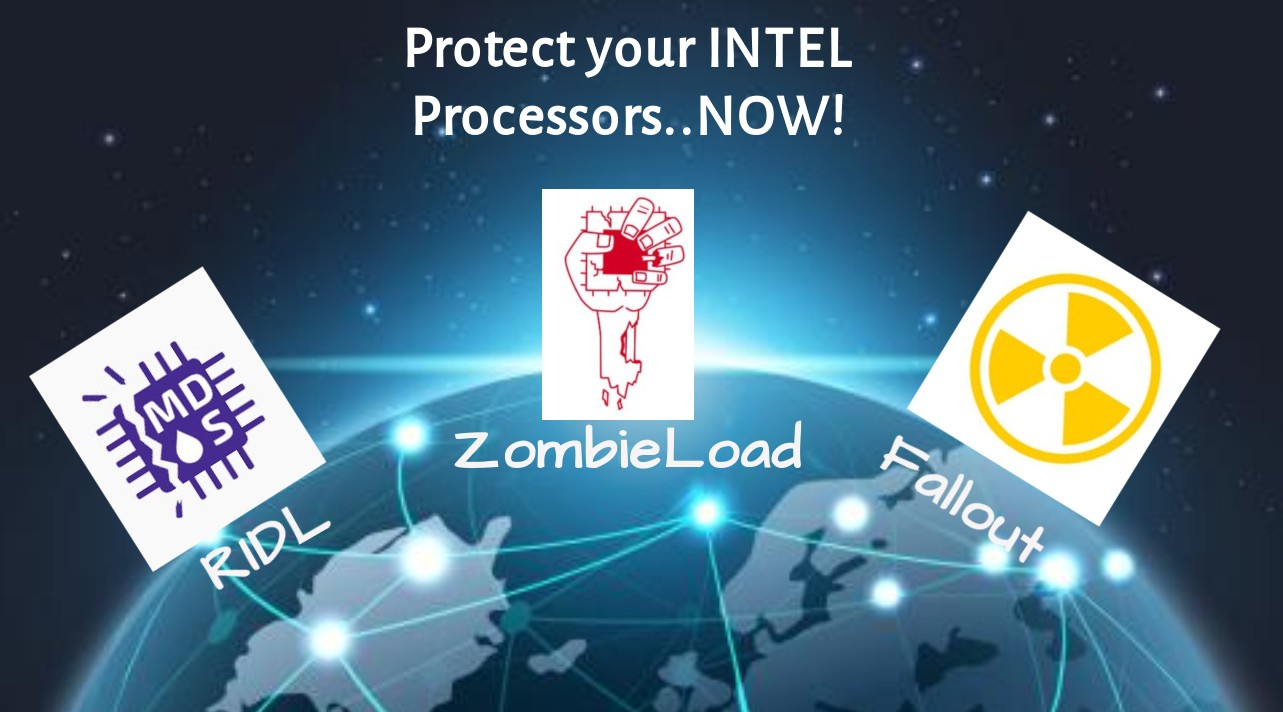 Dawn of ZombieLoad, RIDL and Fallout : MDS Attacks
