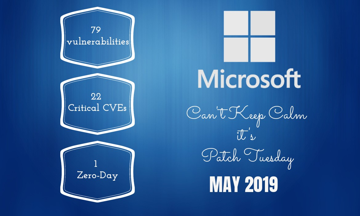 Patch Tuesday: Microsoft Security Bulletin Summary for May 2019