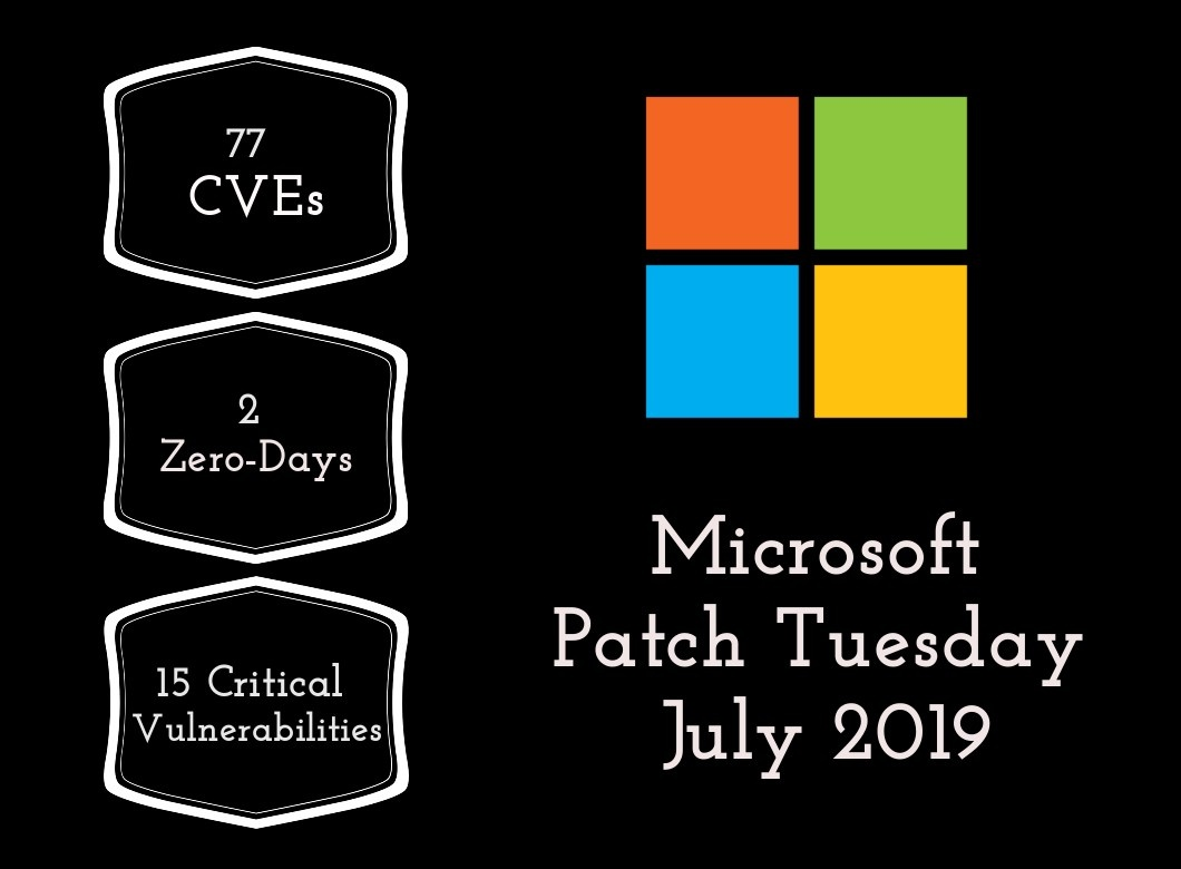 Patch Tuesday: Microsoft Security Bulletin Summary for July 2019