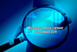 Patch Tuesday: Microsoft Security Bulletin Summary for September 2019