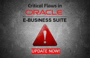 Oracle EBS flaws render businesses out of commission