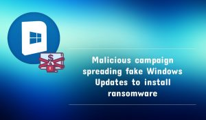 Delivering Ransomware with Windows Updates