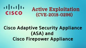 Cisco ASA and FTD under active exploitation from 2018