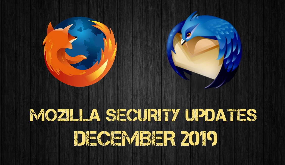 Mozilla Security Updates December 2019