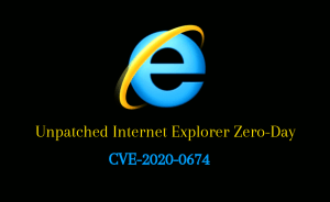 Unpatched Internet Explorer Zero Day exploited in the wild