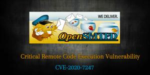 Critical RCE Vulnerability in OpenSMPTD