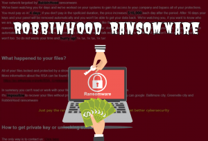 Security Products, not a impediment for RobbinHood Ransomware