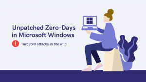 Microsoft warns of active attacks on Windows using unpatched zero-days