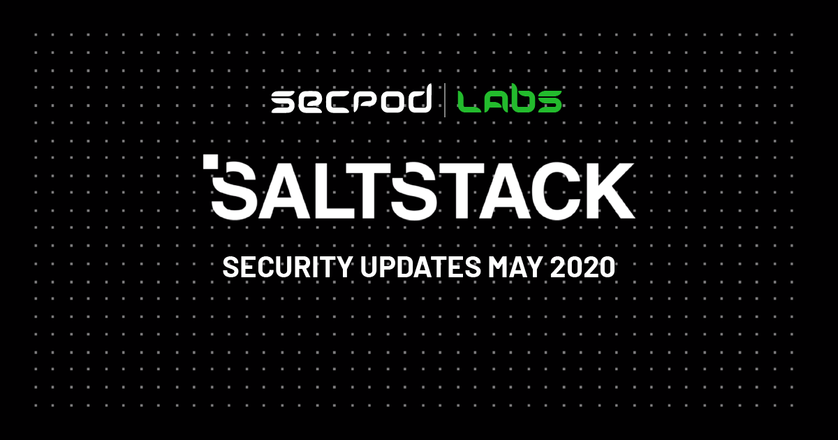 SaltStack Salt Critical Vulnerabilities Under Active Exploitation