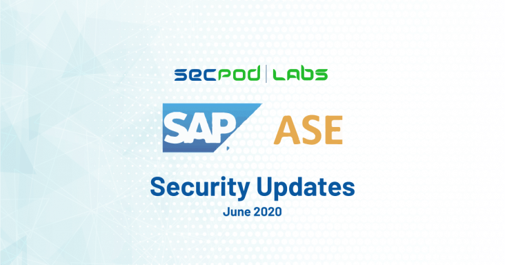 Critical security updates for SAP Adaptive Server Enterprise (ASE)