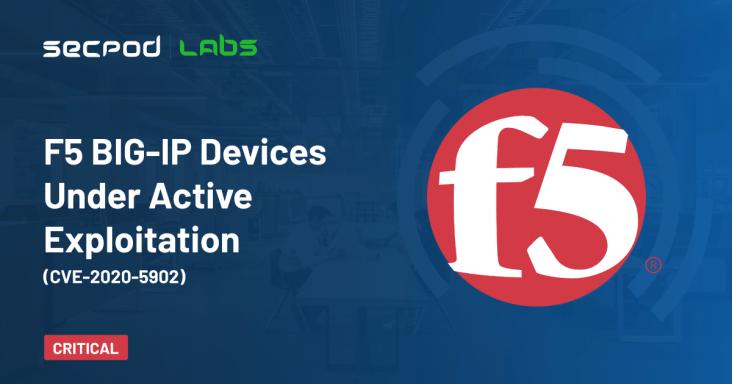 F5 BIG-IP Devices Under Active Exploitation