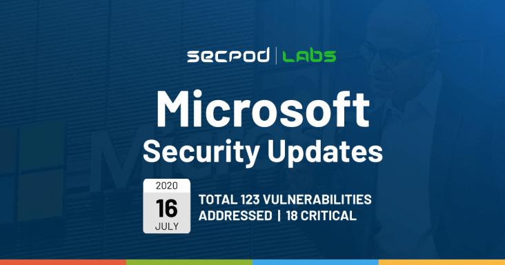 Microsoft Security Bulletin Summary for July 2020