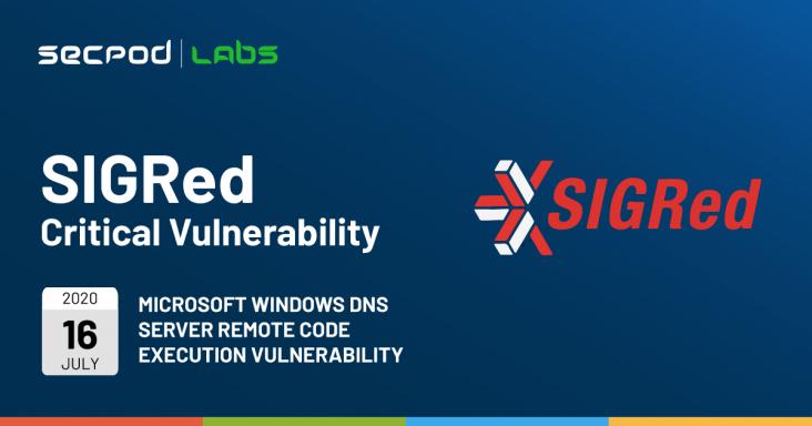 Microsoft Windows DNS Server Remote Code Execution Vulnerability - SIGRed (CVE-2020-1350)
