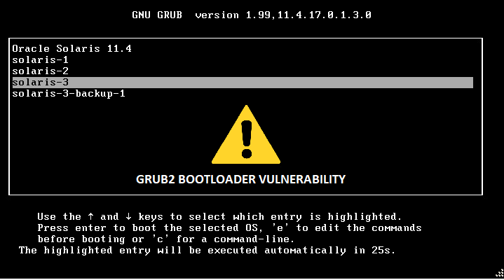 Billions of Linux and Windows Systems at risk due to Critical GRUB2 vulnerabilities