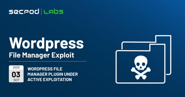 WordPress File Manager Plugin Under Active Exploitation