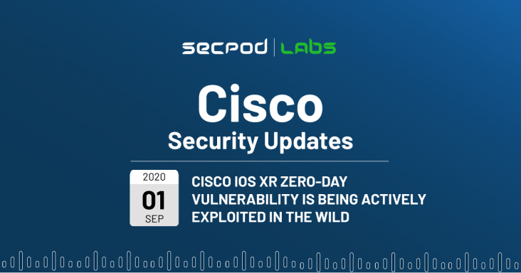 Cisco IOS XR Zero-Day Vulnerability is Being Actively Exploited in the Wild