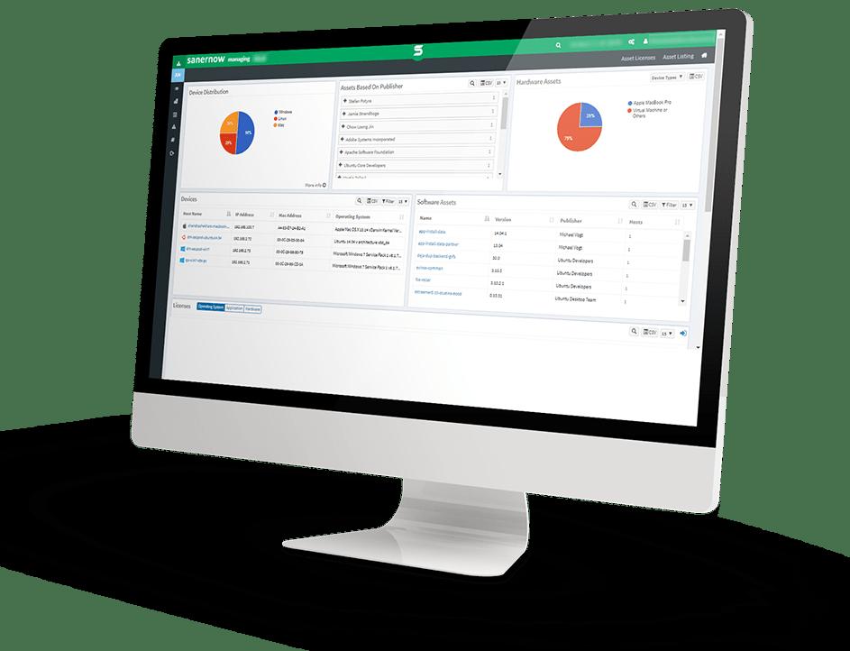SanerNow AM: Asset Management Software