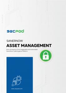 SecPod SanerNow - Asset Management Datasheet