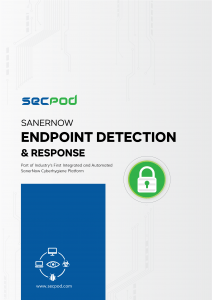 SecPod SanerNow - Endpoint Detection Datasheet